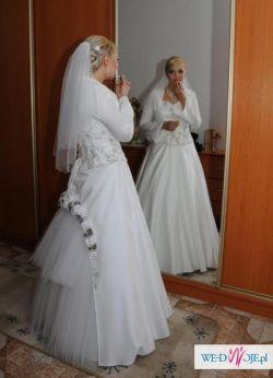 Piekna suknia ślubna rozmiar 38-42