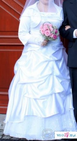 piękną suknia ślubną rozmiar' 44 42