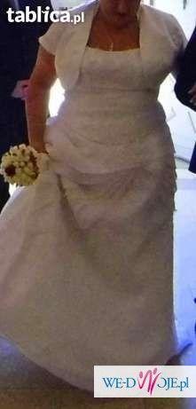 044003597a Piękna Suknia ślubna Rozmiar 4850 Zapraszam Suknie ślubne