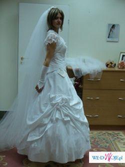 Piękna suknia ślubna  SALINA model 2007- Impresja