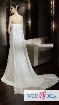 Piękna suknia ślubna San Patrick Cabaret