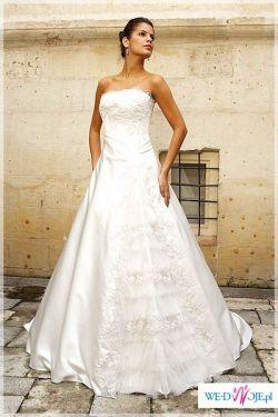 piekna suknia ślubna SEDEF marki DREAMON