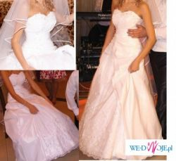 Piękna suknia ślubna Sheila