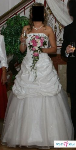 Piękna suknia ślubna SINCERITY 3234 z 2007 r.