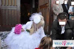 Piękna suknia ślubna Sposabella