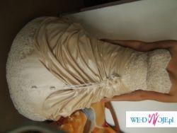 Piękna suknia ślubna - stan idealny