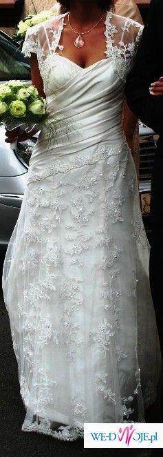 Piękna suknia ślubna sweetheart 5820