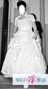 Piękna suknia ślubna!TANIO!!!