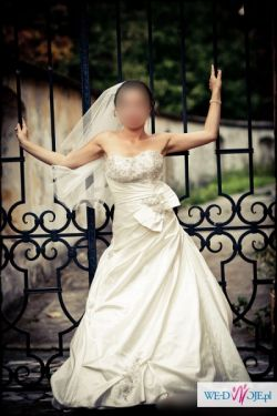Piękna suknia ślubna. Tanio!