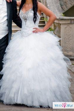 PIĘKNA suknia ślubna TANIO !!!