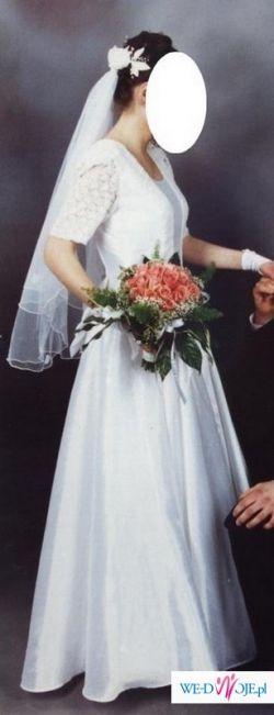 piękna suknia ślubna tanio!!!