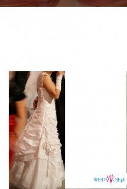 Piękna suknia ślubna tanio sprzedam!!