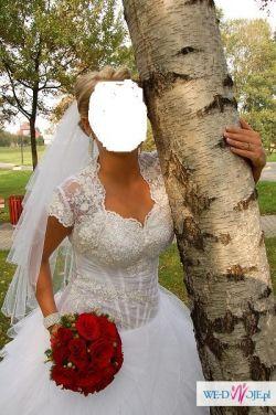 Piękna suknia ślubna tanio sprzedam kolekcja 2010/2011 firmy Kenzo