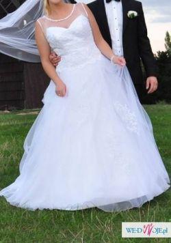 8ba2aa01ac Piękna suknia ślubna typu princeska - Suknie ślubne - Ogłoszenie ...