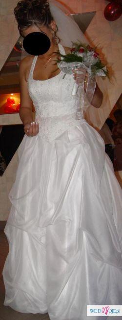 Piękna Suknia ślubna Urszuli Mateji