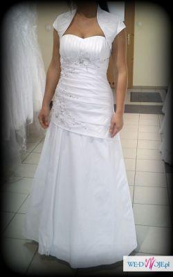 piękna suknia ślubna Visual Chris jak nowa