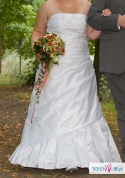 Piękna suknia ślubna Visual Chris, rozmiar 44/46