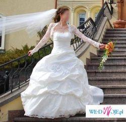 Piękna suknia ślubna w atrakcyjnej cenie