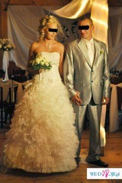 162e32fbbc piękna suknia ślubna w hiszpańskim stylu - Suknie ślubne ...