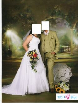 Piękna suknia ślubna w rozm 44 -46
