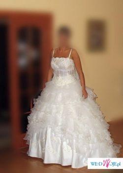 Piękna suknia ślubna z Istambułu