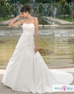 piekna suknia slubna z kolekcji Miss Kelly - OKAZJA!