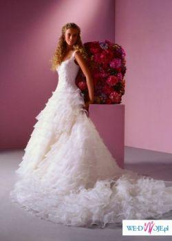 Piękna suknia ślubna z nowej kolekcji Sincerity BRIDAL 2007/2008,styl hiszpański