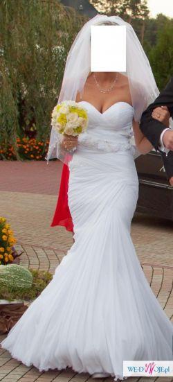 Piękna suknia ślubna z Paryżanki