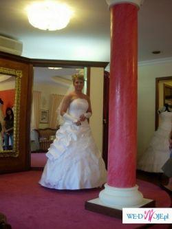 Piękna suknia ślubna z salonu ISABEL z kolekcji 2007r.