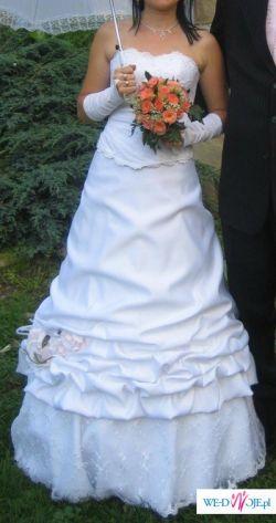 Piękna suknia ślubna z salonu Karina Żory
