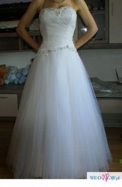 Piękna suknia ślubna - za grosze!!!