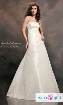 Piękna suknia ślubna_kolekcja 2011_kryształki_roz.40-42