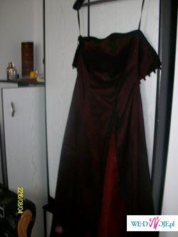 Piękna suknia studniówkowa raz noszona