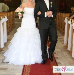 Piękna suknia Sweetheart 5940