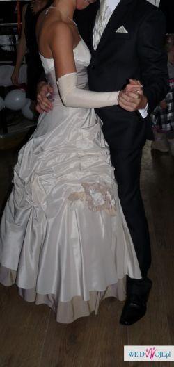 Piękna suknia tanio rozmiar 36-38