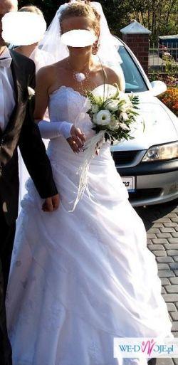 Piękna suknia w atrakcyjnej cenie
