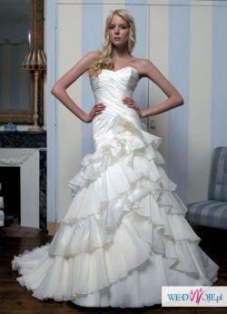 Piękna suknia w hiszpańskim stylu