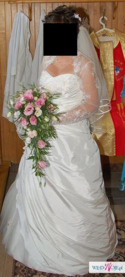 piękna suknia w rozmiarze 38