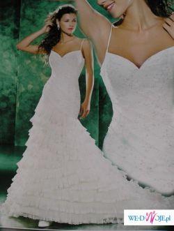 Piękna Suknia w stylu hiszpańskim