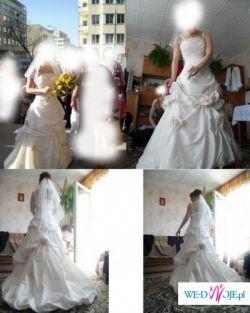 Piekna suknia z kolekcji Roland Joyce.