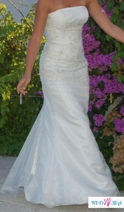 Piękna suknia zwana Rybką