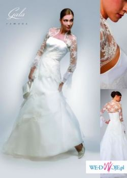 Piękną suknię  ślubną ecru