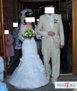 Piękna suknie ślubna firmy Ms Moda