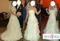 Piękna suknie ślubna roz. 34 - 36
