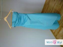Piękna turkusowa suknia dla świadkowej i nie tylko! :)