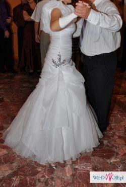 Piękna włoska suknia ślubna (od pierwszej właścicielki!)