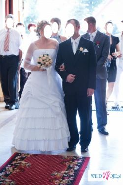 Piękna, wygodna, lekka suknia ślubna