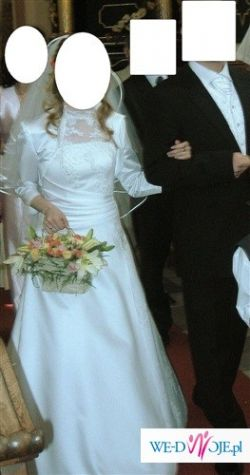 Piękna, wygodna suknia ślubna