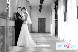 Piękna, zwiewna i romantyczna suknia ślubna TANIO