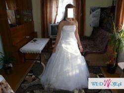Piękna zwiewna suknia śluban